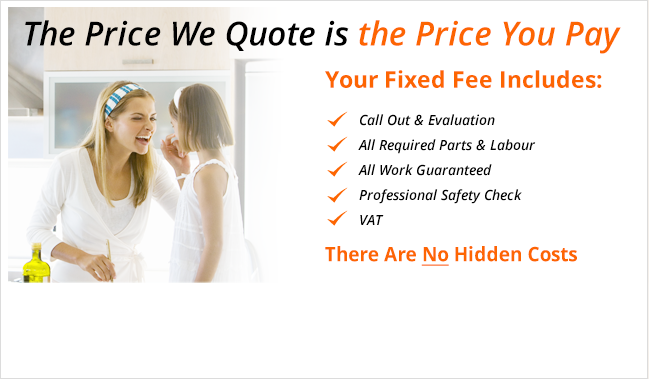 Fixed price appliance repairs